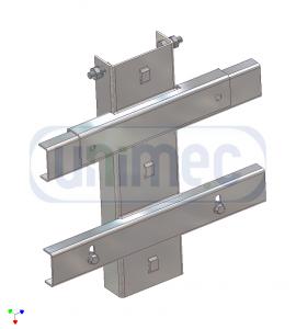 suportul aparatajului pe stalp DS 1206